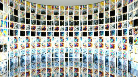 Mosaic - Modern - Bathroom - by camilla_saurus