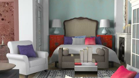 bedchrome - Eclectic - Bedroom - by naki1