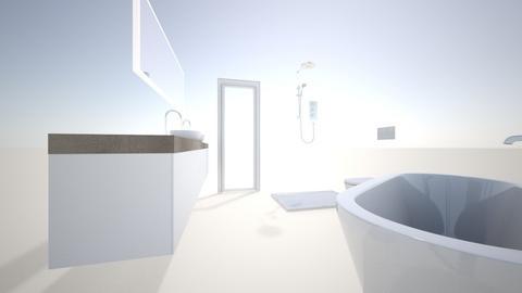 KOpalnica nova - Bathroom - by DamjanStanovanje