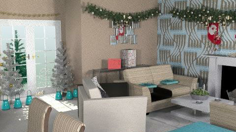 M/S 3 AC - Glamour - Living room - by FRANKHAM