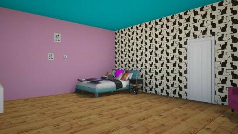 lola  room - Bedroom - by Kaleen Smith