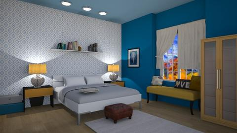 House_Guest Bed - Bedroom - by abbyt94