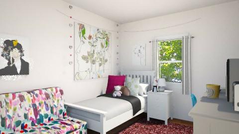 Teenage Bedroom - by andiavie