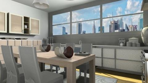 down town - Modern - Kitchen - by vesperart