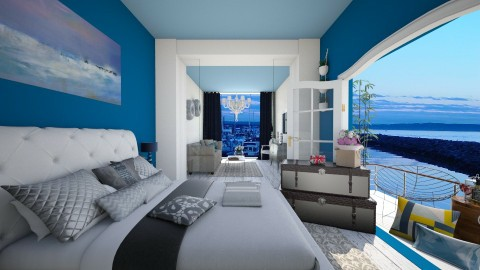 Hotel suite - Classic - Bedroom - by Glendyx