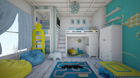 children imagination - Kids room - by nassurina