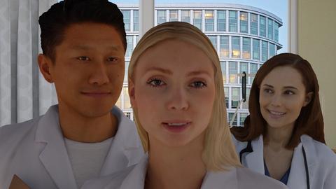 Hospital selfie - Modern - by HenkRetro1960
