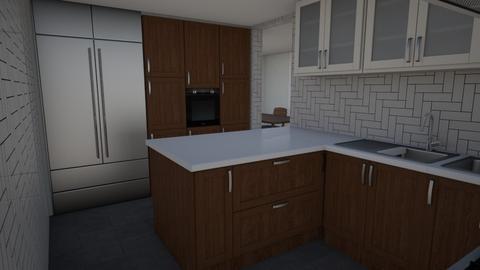 ooo - Kitchen - by melcampusano