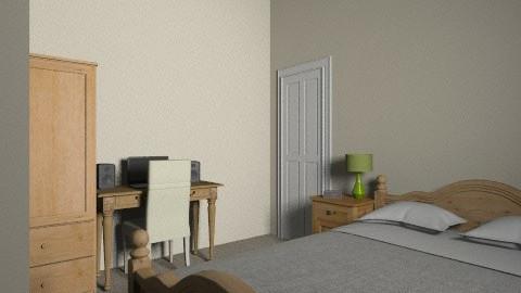 Second Bedroom w recess - Vintage - Bedroom - by emiliabeth