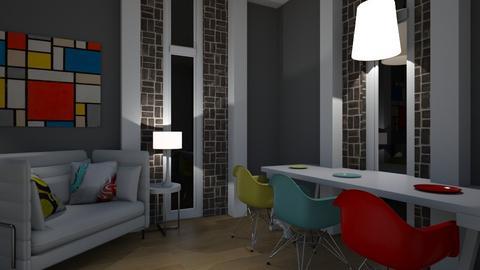 Pop - Modern - Living room - by XiraFizade