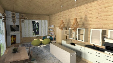 Modern Longhouse - Modern - by annanani