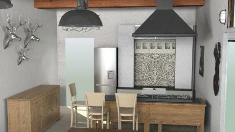 BBredesign - Rustic - Kitchen - by summerdaystudio