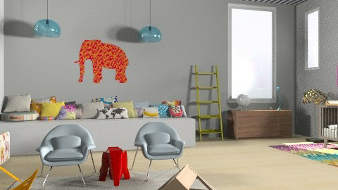 Ideal Mod Baby - Modern - Kids room - by katedeco