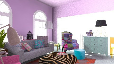 Fun - Eclectic - Living room - by madzzz