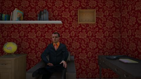 Sherlock2 - Classic - Living room - by mouhannad