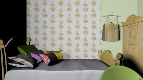 tommelise room2 - Vintage - Kids room - by karianna