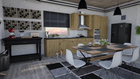 Kitchen - Kitchen - by edDesign