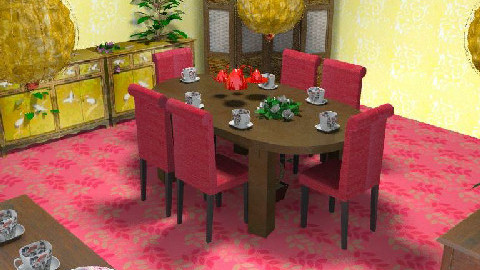 Art Chino - Dining Room - by Ivannia Arana