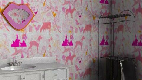 Pinkk - Bathroom - by Lii Lii