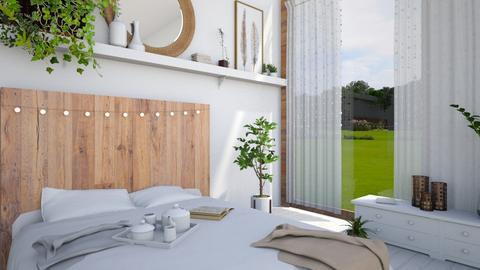 Green - Bedroom - by ArtHousedeco