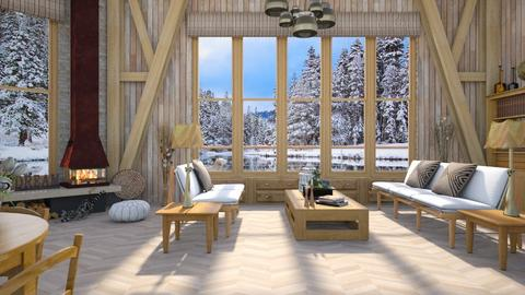 Design 410 Haring Oak at the Lake - Living room - by Daisy320