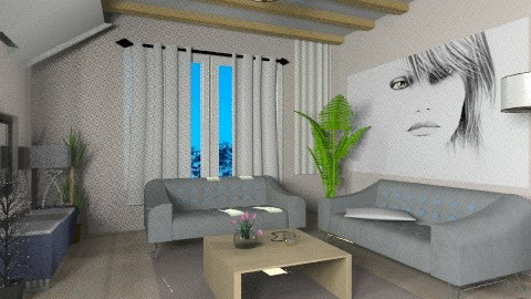 Helen x - Minimal - Living room - by milyca8