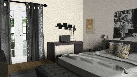 Master Bedroom - view 3 - Modern - Bedroom - by lucian_serpi
