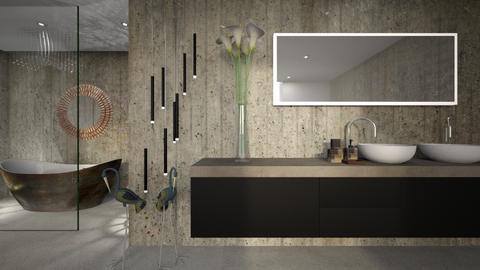 gris - Bathroom - by ana111