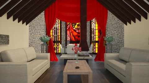 Church Remodel - Living room - by CassW