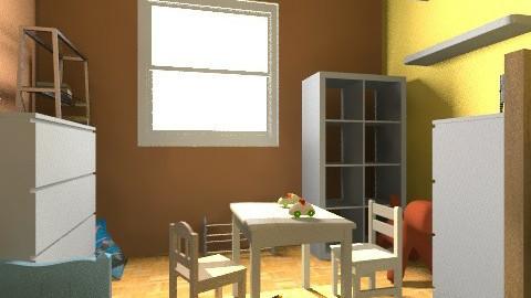 cote_ludo_enfants - Eclectic - Kids room - by bwebox