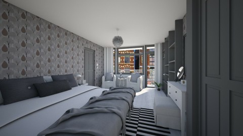 Bedroom redesign - Modern - Bedroom - by martinabb