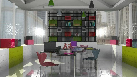 cool office comp. - Modern - Office - by Natasa_M