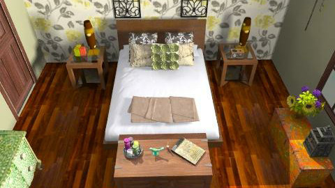 mums room - Country - Bedroom - by rawchill