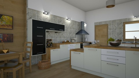 13102017b - Eclectic - Kitchen - by matina1976