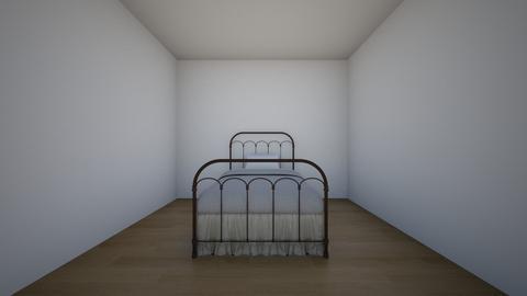 bedroom - Retro - Bedroom - by Mirandavaldezzz