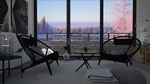 Minimal christmas - Living room - by Tuitsi