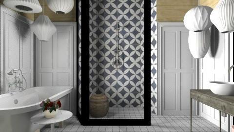 Porto Shutter Bath - Modern - Bathroom - by 3rdfloor