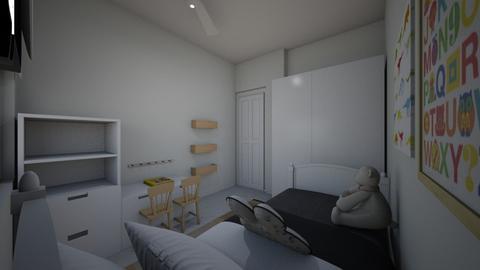 Yuval Winreich 3 - Kids room - by erlichroni