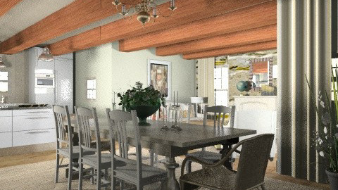 DREAM CUCINA - Eclectic - Kitchen - by mywishlr