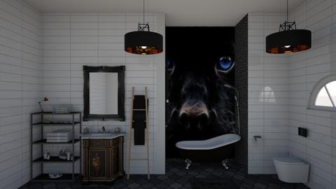 crno - Bathroom - by natasa mihajlovic