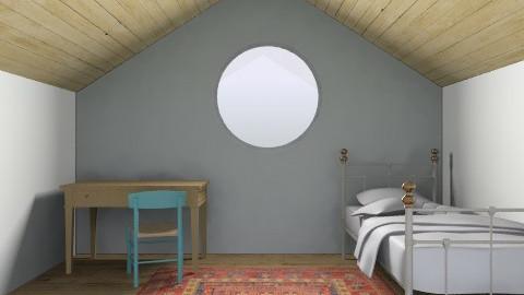 simple attic room - Bedroom - by bethris