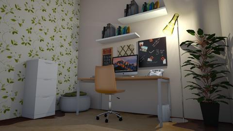 Office space - Minimal - Office - by elizabethwatt16