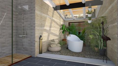 Foliage - Modern - Bathroom - by katarina_petakovi