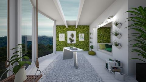 Urban Jungle Hallway - Modern - by Mesehabbal