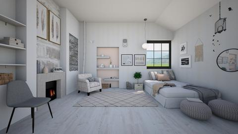 Neutral - Bedroom - by ArtHousedeco