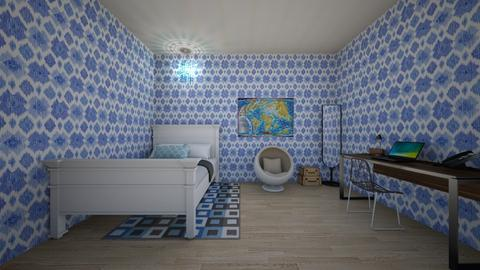Nautical Bedroom - Bedroom - by Pandicorn21