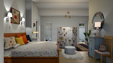 eclectic bedroom - Bedroom - by ClaraBart