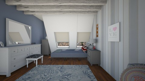 basment - Bedroom - by hannanex