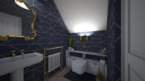 Under stair toilet - Modern - Bathroom - by tieganclayton