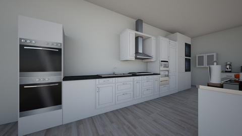 room - Kitchen - by BrianaGjergjaj